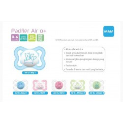 MAM Air Orthodontic Pacifier / Soother Empeng...