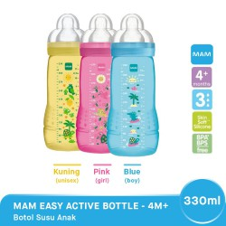 MAM Easy Active Botol Susu Bayi 4m+ 330 ml - Boy...