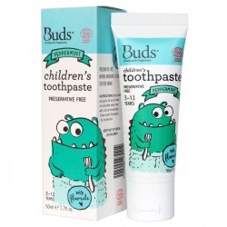 Buds Oralcare Organics Children's Toothpaste With...