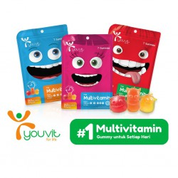 Youvit Gummy Multivitamin Anak 7 Days - Rasa Mix