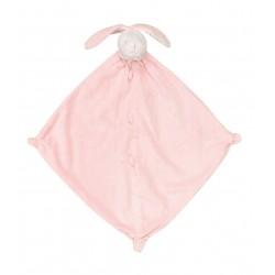 Angel Dear Mini Blankie - Pink Floppy Ear Bunny