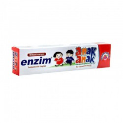 Enzim Children Toothpaste Strawberry Flavour -...