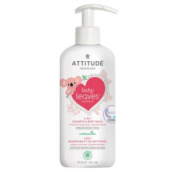 Attitude Baby Leaves 2 in 1 Shampoo & Body...