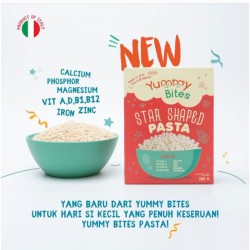 Yummy Bites Star Shaped Pasta MPASI Bayi - 250gr