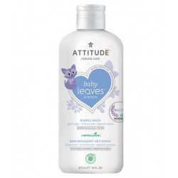 Attitude Baby Leaves Natural Bubble Wash 473 ml -...