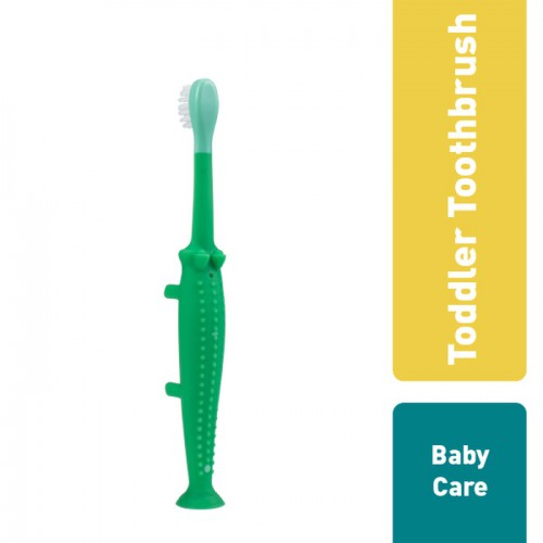 Dr. Brown's Infant To Toddler Toothbrush Sikat Gigi Anak - Crocodile