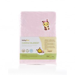 Babybee Cuddle Blanket - Dot Pink