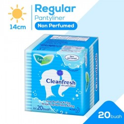Laurier Pantyliner Cleanfresh Non Perfume - 20 s