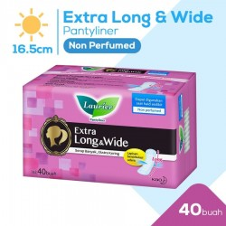 Laurier Panty Liner Extra Long & Wide Non...