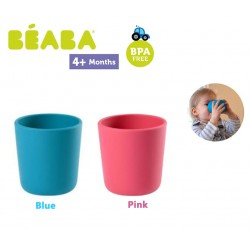 Beaba Silicone Glass Gelas Anak Silikon - Blue /...