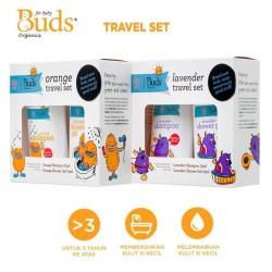 Buds Organics Kids Travel Set Sabun Shampoo Bayi...