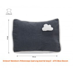 Cribcot NewBorn Pillow Case Sarung Bantal Bayi -...