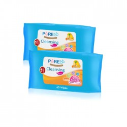 Pure BB Baby Cleansing Wipes Lemon 60's Buy 1 Get...