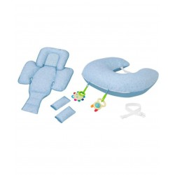 ClevaMama ClevaCushion Nursing Pillow & Baby...