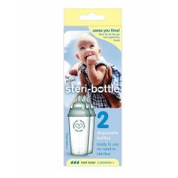 Steri Bottle Disposable Baby Bottles 250ml - 2...