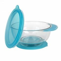 Nuby Tritan Sure Grip One Handle Suction Bowl -...