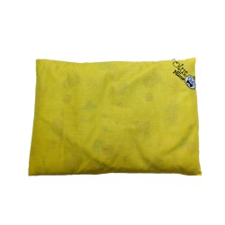 Olus Pillow Bantal Kulit Kacang Hijau - Yellow