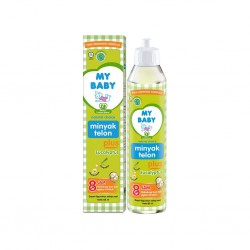 My Baby Minyak Telon Plus Ecalyptus - 85 ml