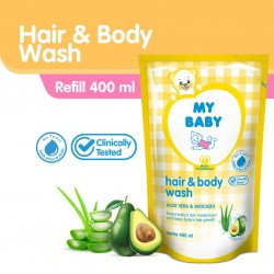 My Baby Hair & Body Wash Sabun Mandi Bayi 400...
