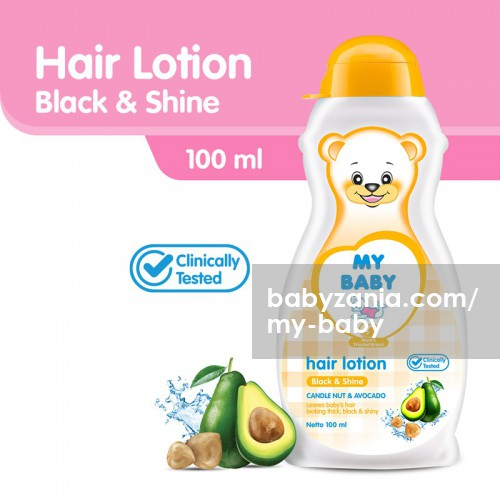 My Baby Hair Lotion Minyak Rambut Bayi 100ml - Black & Shine