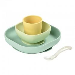 Beaba Silicone Meal Set Perlengkapan Makan Bayi...