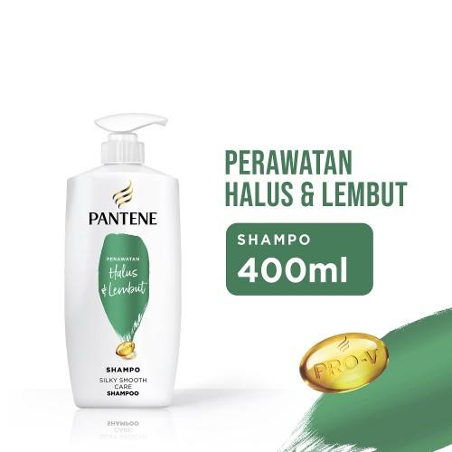 Pantene Shampo Silky Smooth Care Halus & Lembut - 400 ml
