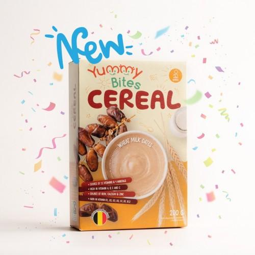Yummy Bites Cereal 200 gr - Wheat Milk Dates
