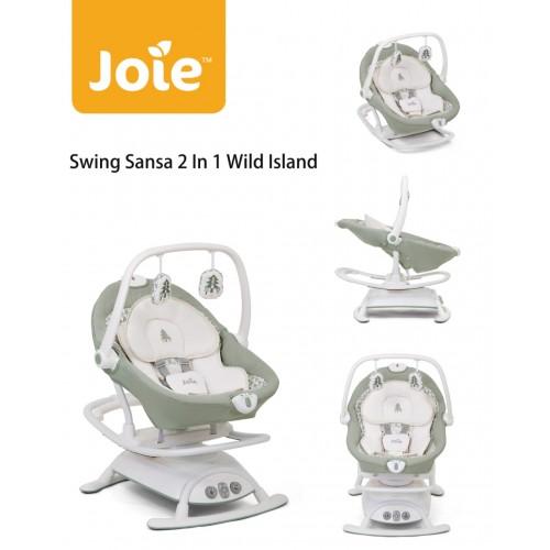 Joie Baby Sansa 2 in 1 Glider and Rocker Ayunan Bayi - Wild Island