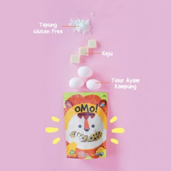 Omo Healthy Snack Toddler 75gr - Cheese Puff