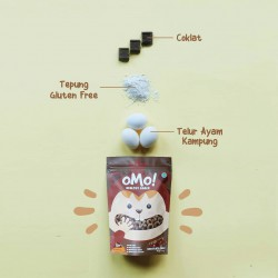 Omo Healthy Snack Toddler 75gr - Chocolate Puff