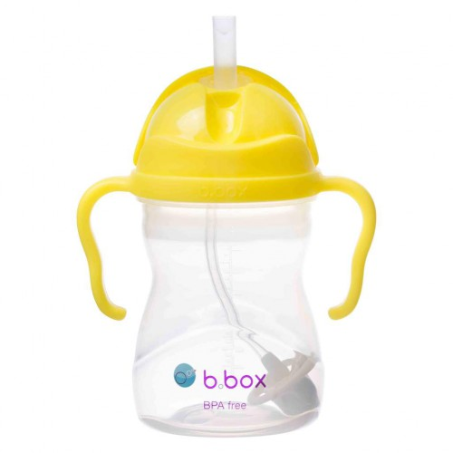 Bbox Sippy Cup with Replacement Straw 240 ml - Lemon