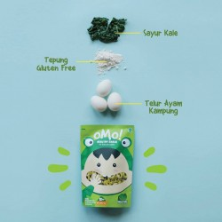 Omo Healthy Snack Toddler 75gr - Kale Puff