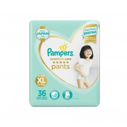 Pampers Popok Premium Care Active Baby Pants - XL...
