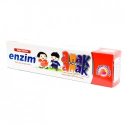 Enzim Children Toothpaste Strawberry Flavour - 63...