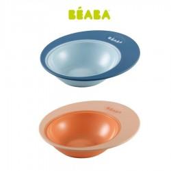 Beaba Training Plate Ellipse Piring Makan Anak -...