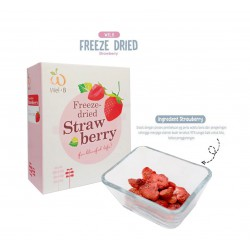 Wel-B Freeze Dried Snack Anak 25 gr - Strawberry