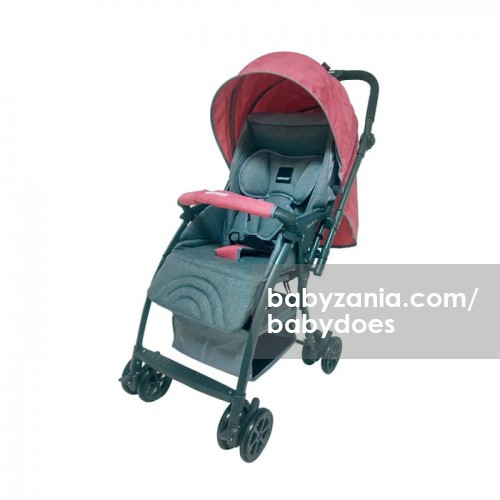 Babydoes Stroller Bayi CH 817i Easylite M - Red