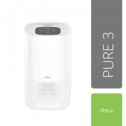 Drew Pure 3 Air Purifier - White