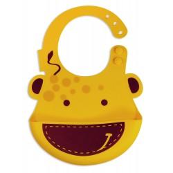 Marcus & Marcus Baby Bib - Giraffe Yellow