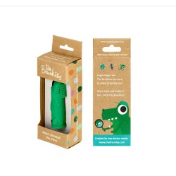 The Brushies Baby Toothbrush Chomps the Dino - 4W+