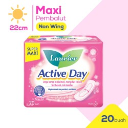 Laurier Active Day Super Maxi Non Wing Pembalut...