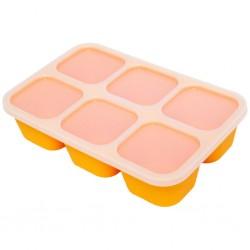 Marcus & Marcus Food Cube Tray - Lola Yellow