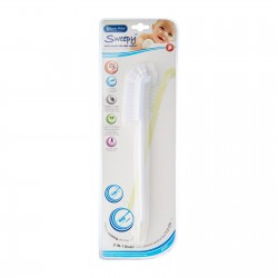 Lucky Baby 2 in 1 Sweepy Brush with Teat Cleanser