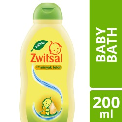 Zwitsal Natural Baby Bath With Minyak Telon - 200...