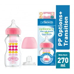 Dr. Brown's PP Option Transition Bottle Kit 9 Oz/...