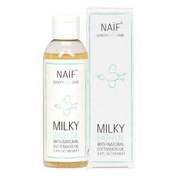 Naif Milky Bath Oil With Natural Cottonseed Oil -...