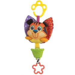 Playgro Musical Pullstring - Tiger Toy