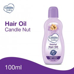 Cussons Baby Natural Hair Oil Candle Nut &...