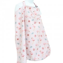 Mooi Double Sided Nursing Apron - Flaminggo
