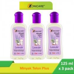 Konicare Minyak Telon Plus 3 PACK - 125ml